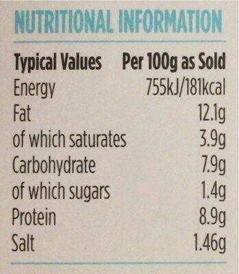 Luxury Orkney Crab Terrine - Nutrition facts - en