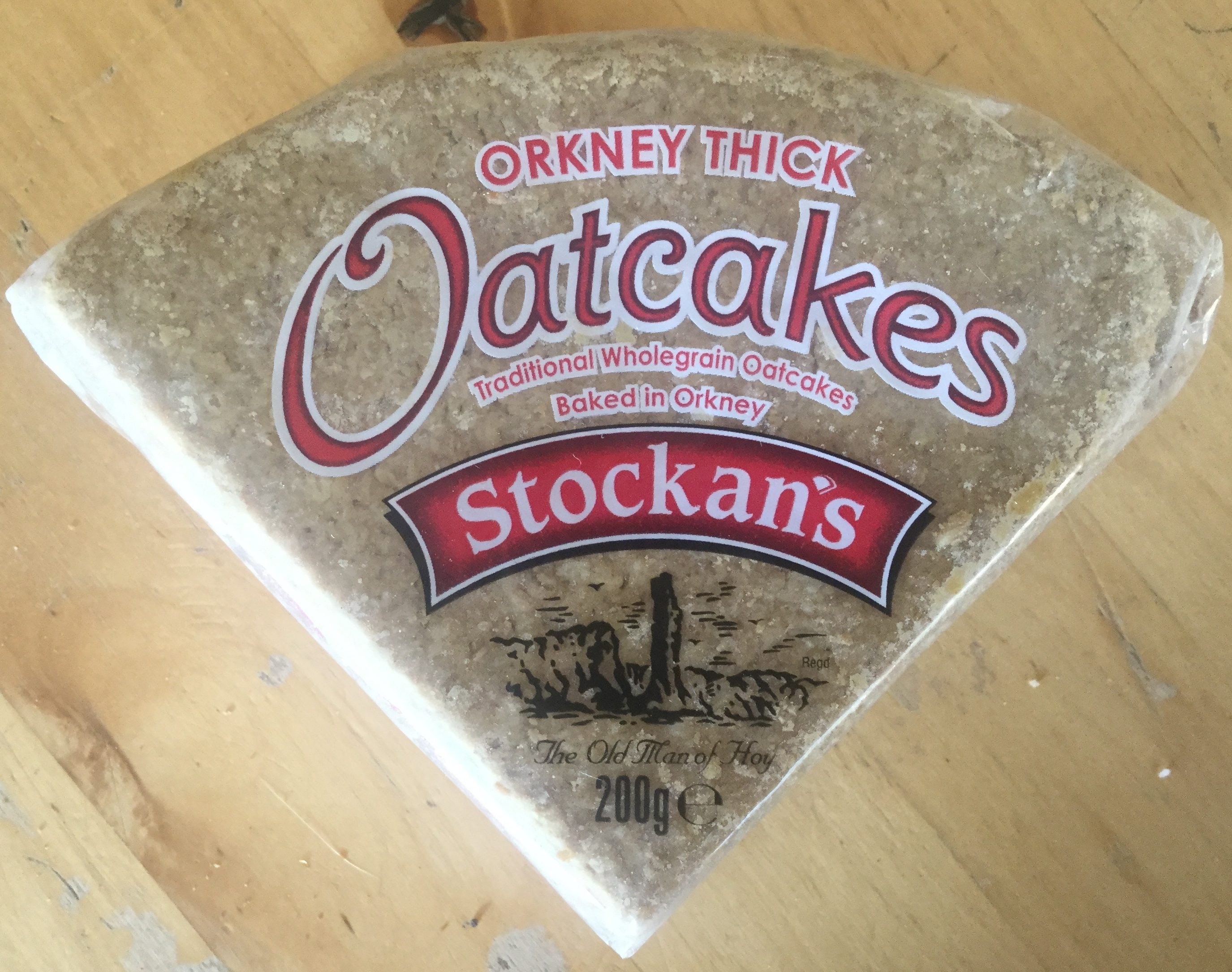 Orkney thick oatcakes - Product - en