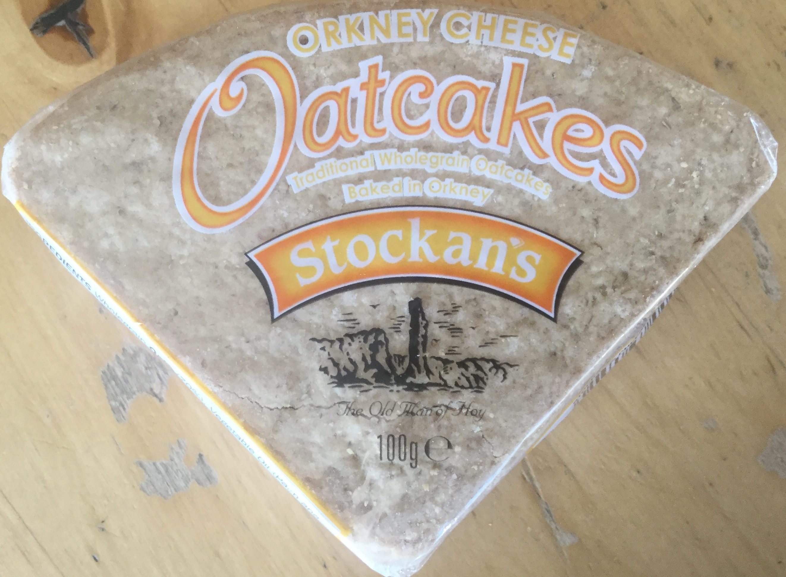 Orkney cheese Oatcakes - Product - en
