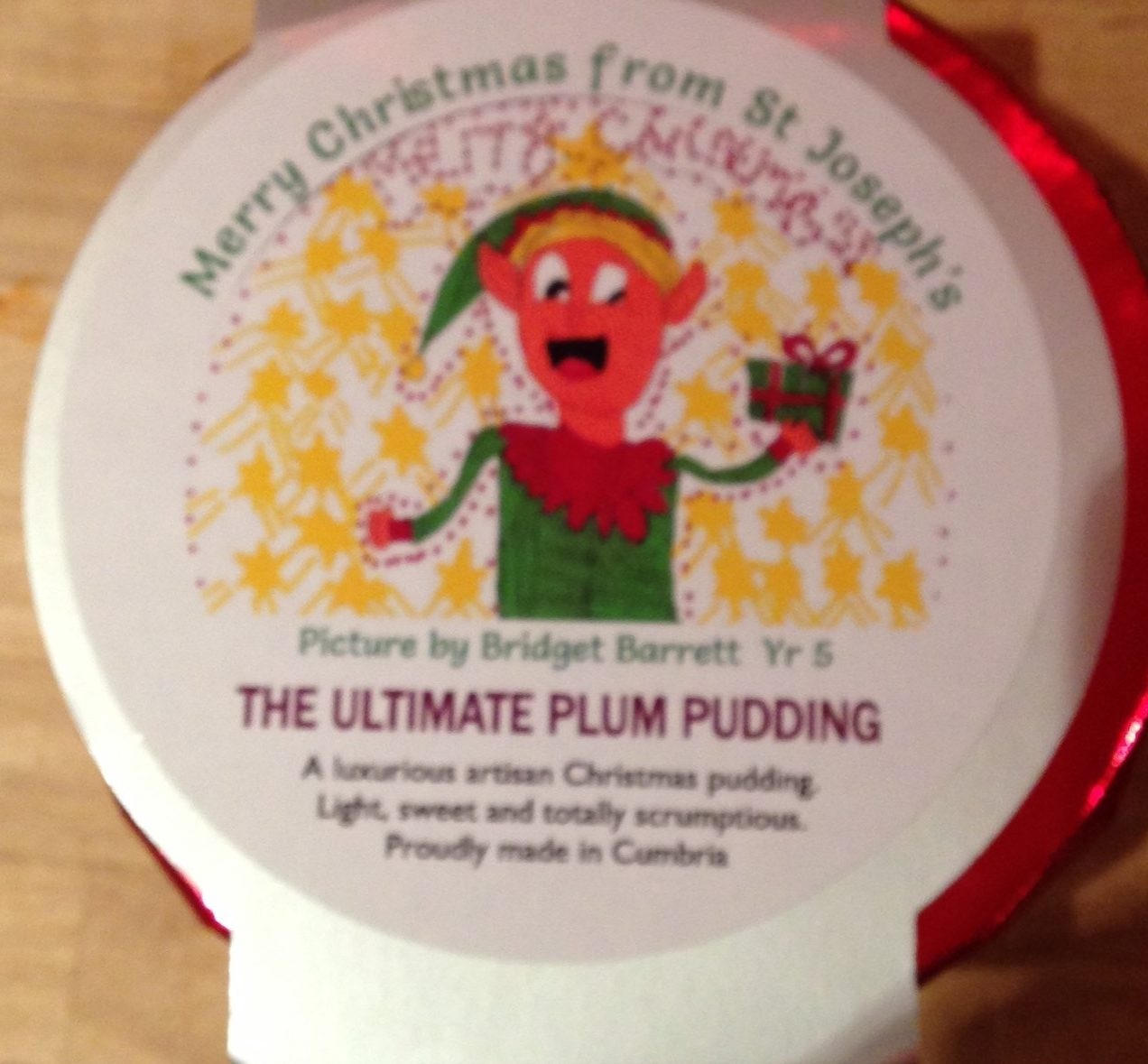 The Ultimate Plum Pudding - Product - en