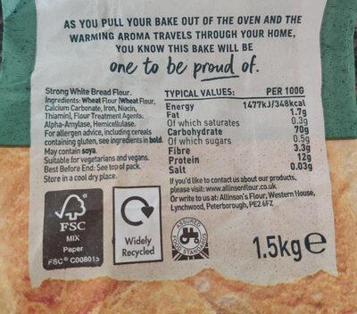 Bread flour - Ingredientes - en