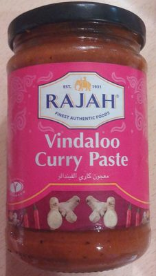 Pâte de Curry Vindaloo - Product - fr