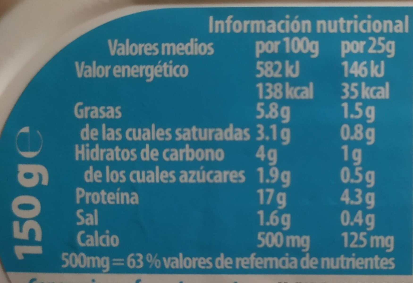 Spreadable Protein Cheese - Informations nutritionnelles - fr