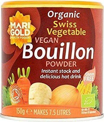 Organic Swiss Vegetable Vegan Bouillon Powder - Produit - en
