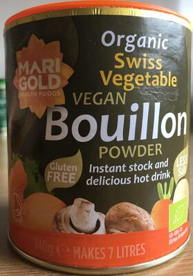 Organic Vegetable Bouillon Reduced Salt - Product - en