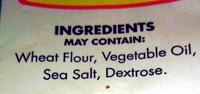 Pretzels - Ingrédients