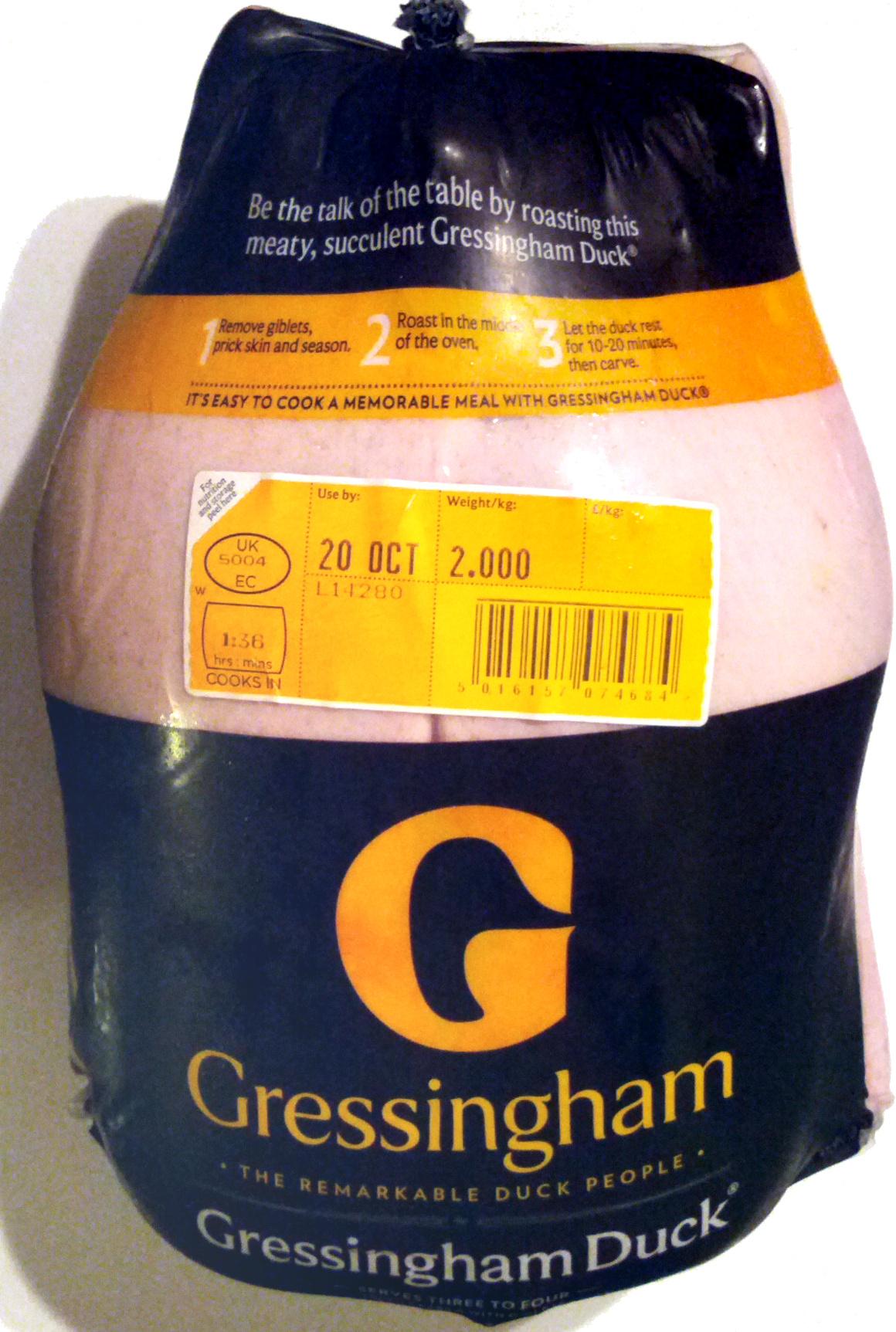 Gressingham Duck - Product - en