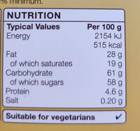 Moments - Nutrition facts - en
