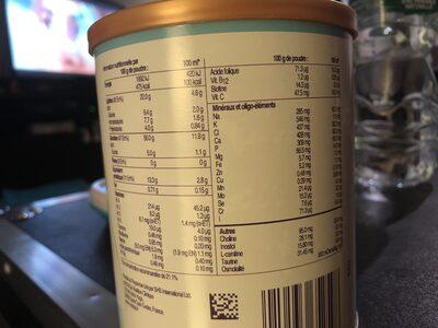 Neocate junior - Informations nutritionnelles - fr