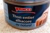 Thon entier albacore au naturel - Product