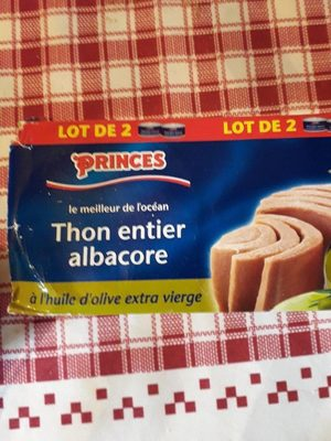 Thon entier Albacore - Product