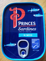 Sardines in water - Product - nl