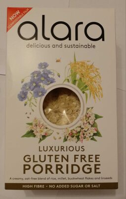 Luxurious gluten free porridge - Product