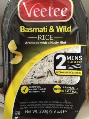 Veetee Basmati & Wild Rice - Product - fr