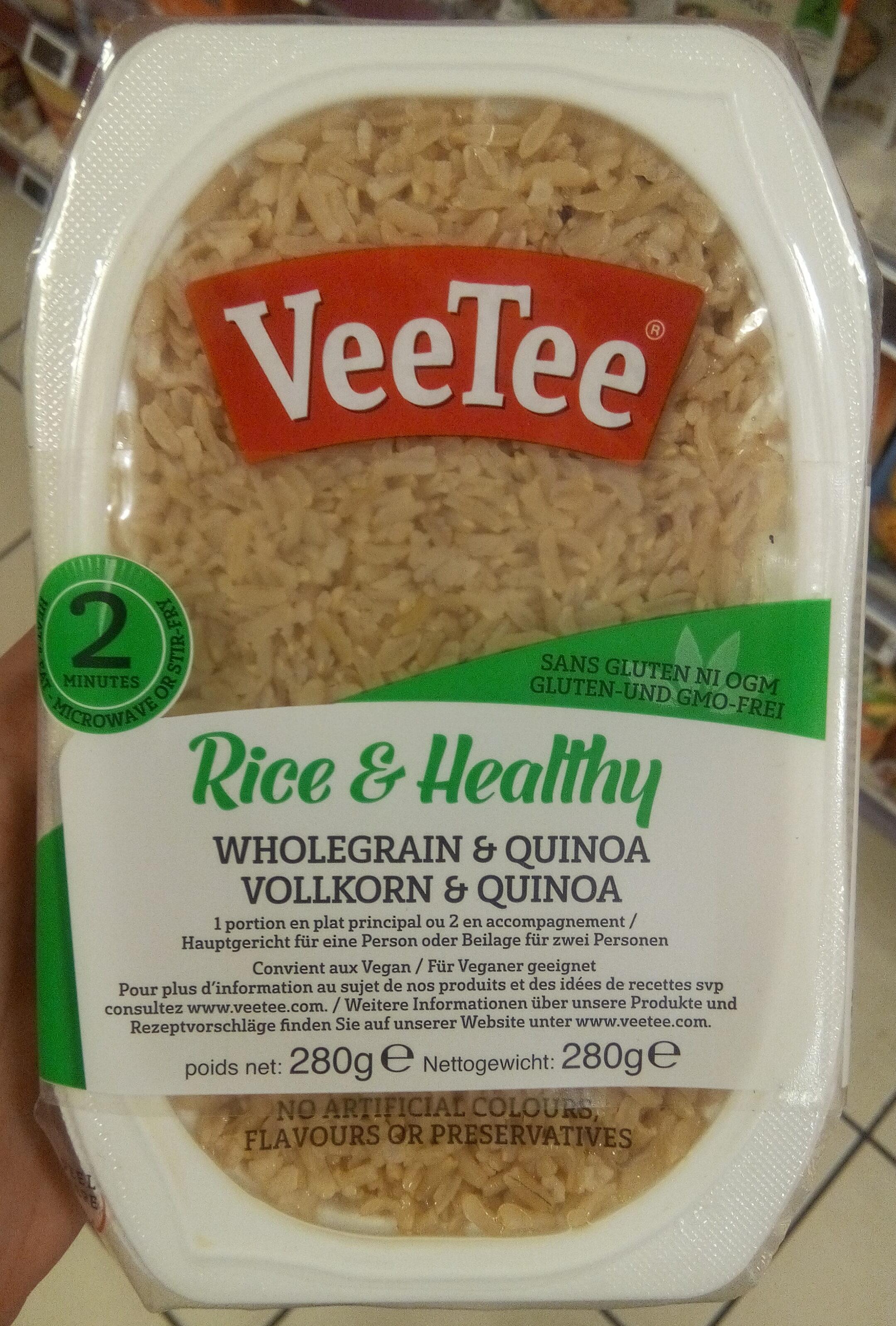 Riz Brun à Grains Entiers et Quinoa - Produit - fr