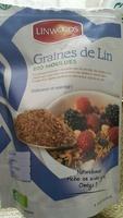 Graines de Lin biologique moulues - Producto - fr