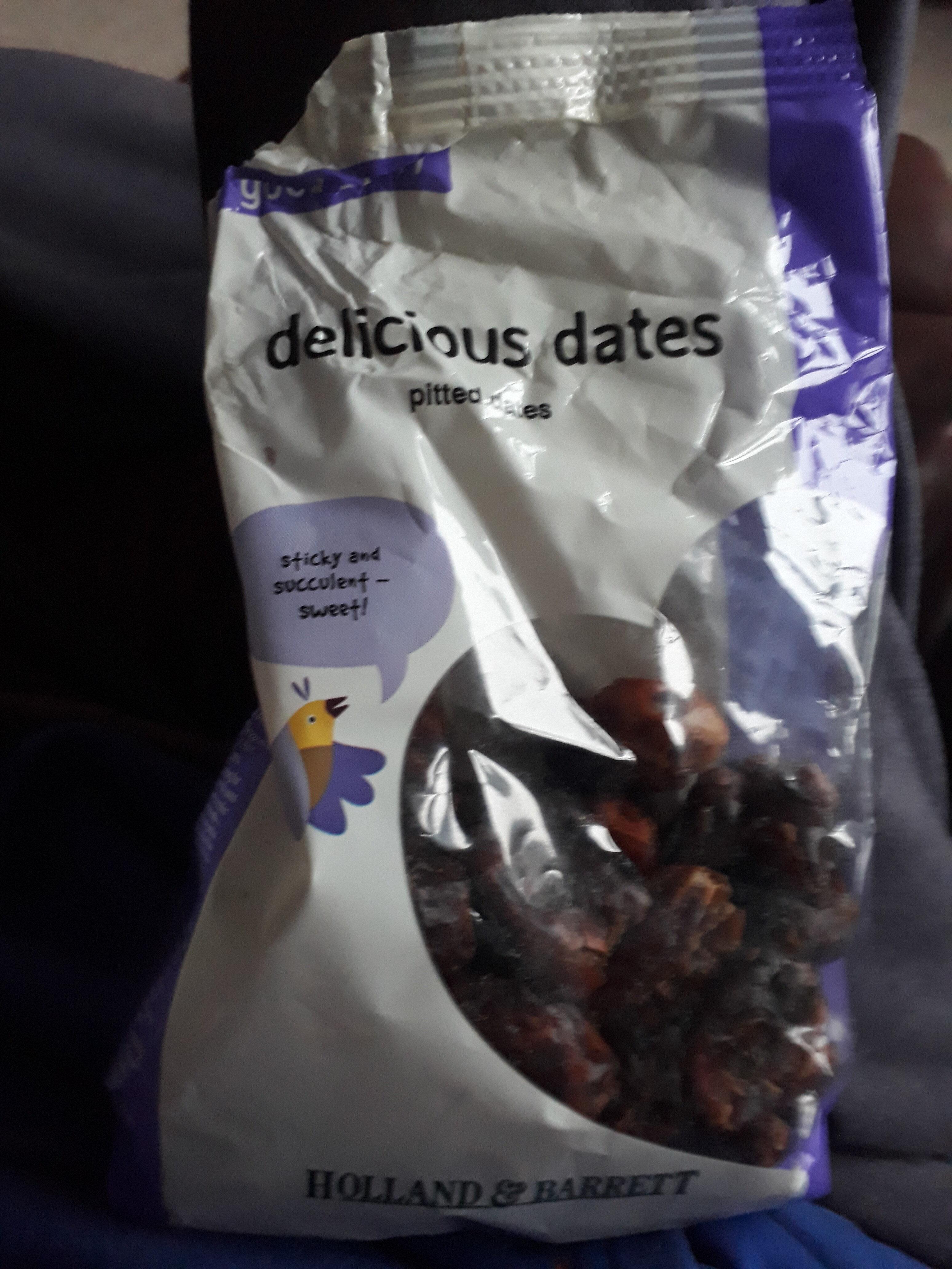 Delicious dates - Produkt - en
