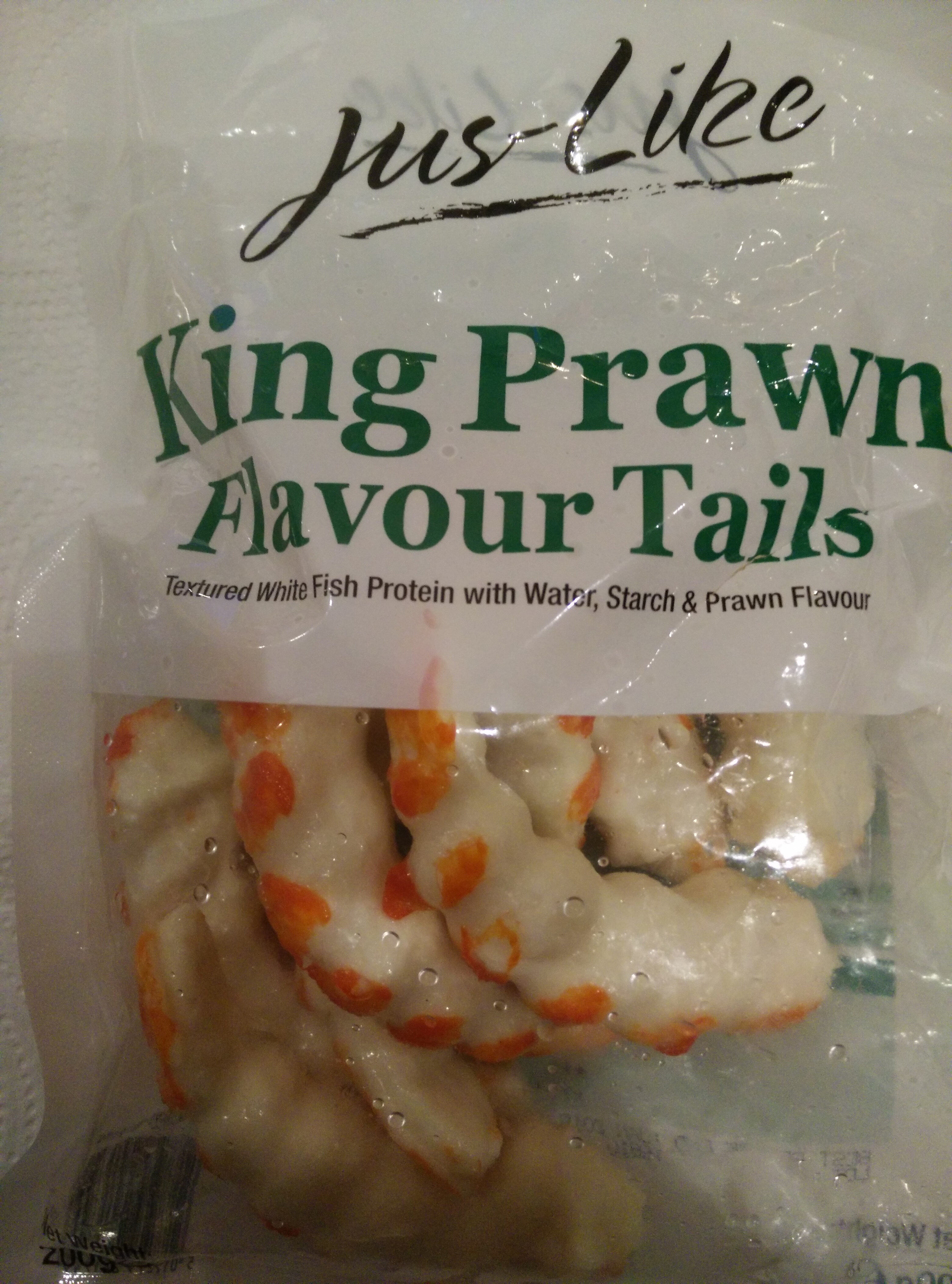 King prawn flavour tails - Product