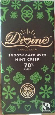 Divine chocolate smooth dark eith mint crisp - Produit - en