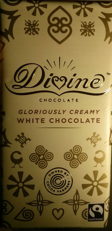 Gloriously creamy white chocolate - Produit