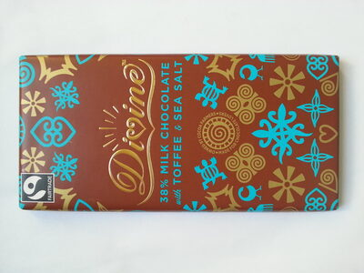 38% Milk Chocolate with Toffee & Sea Salt - Product