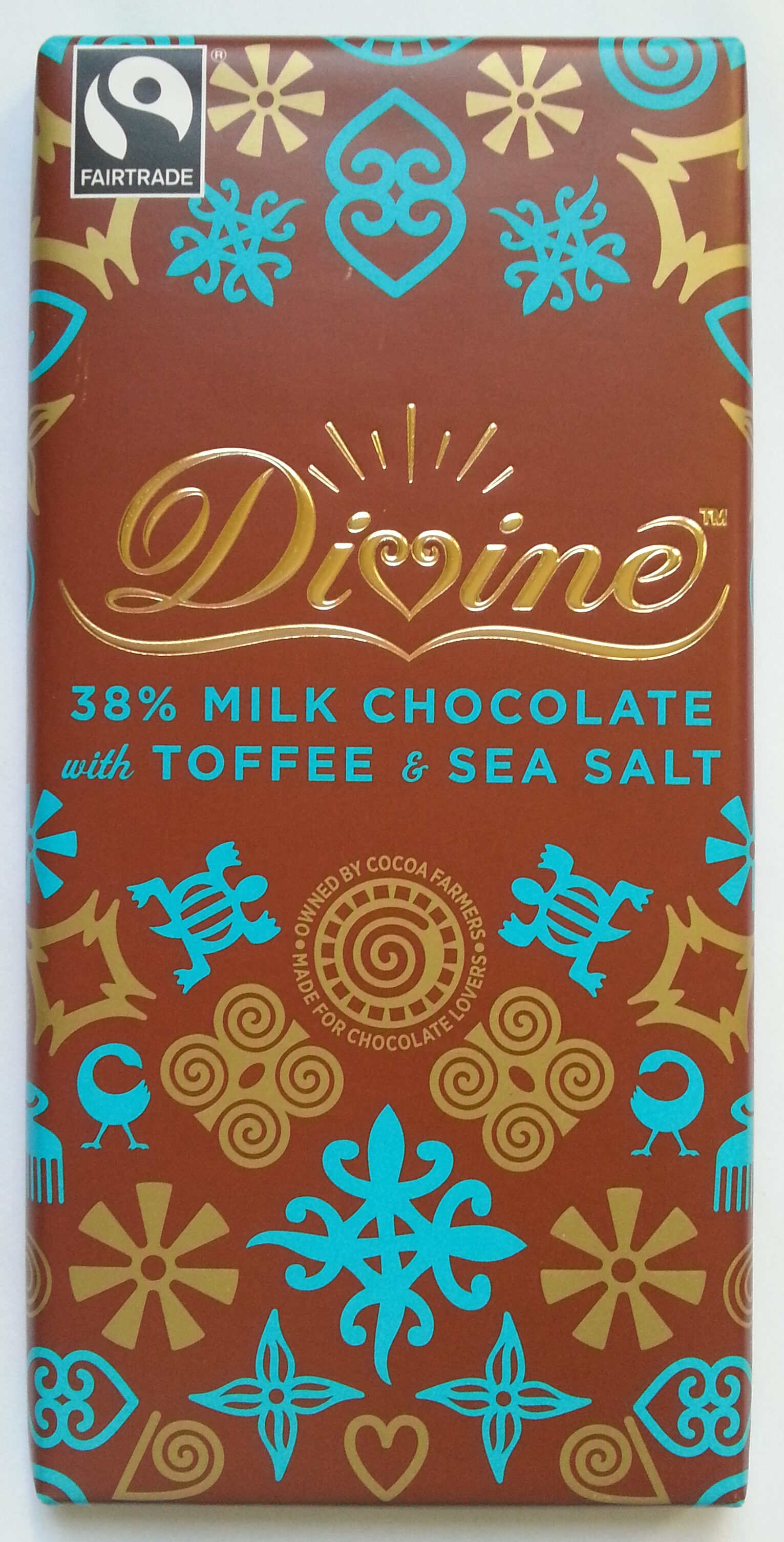 38% Milk Chocolate with Toffee & Sea Salt - Produit - en