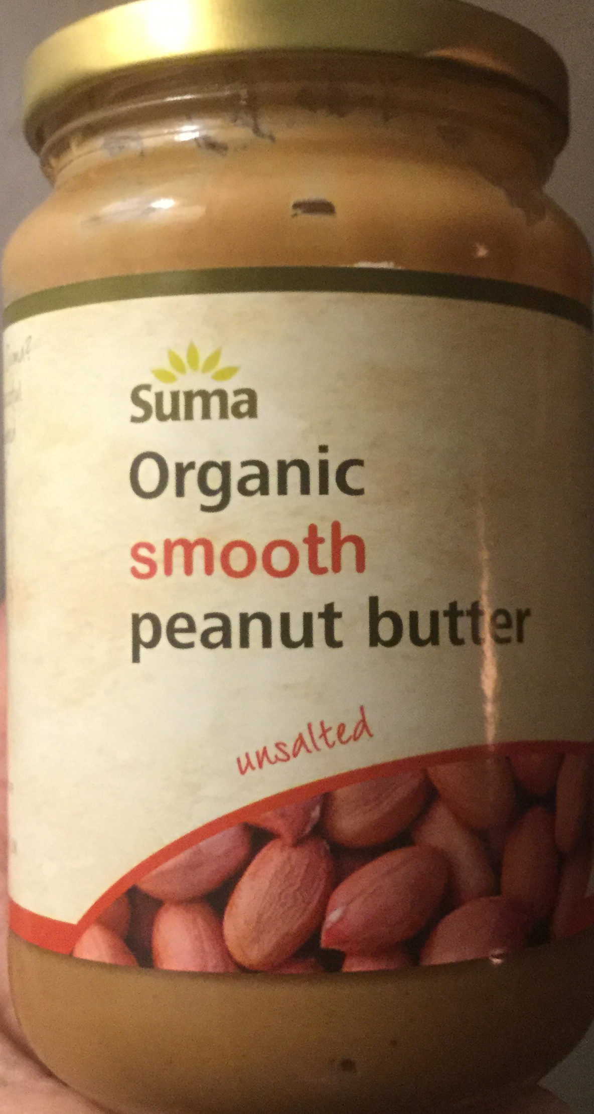 Organic smooth peanut butter - Product - en