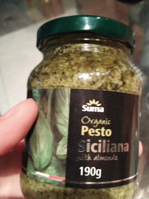 organic pesto siciliana - Product