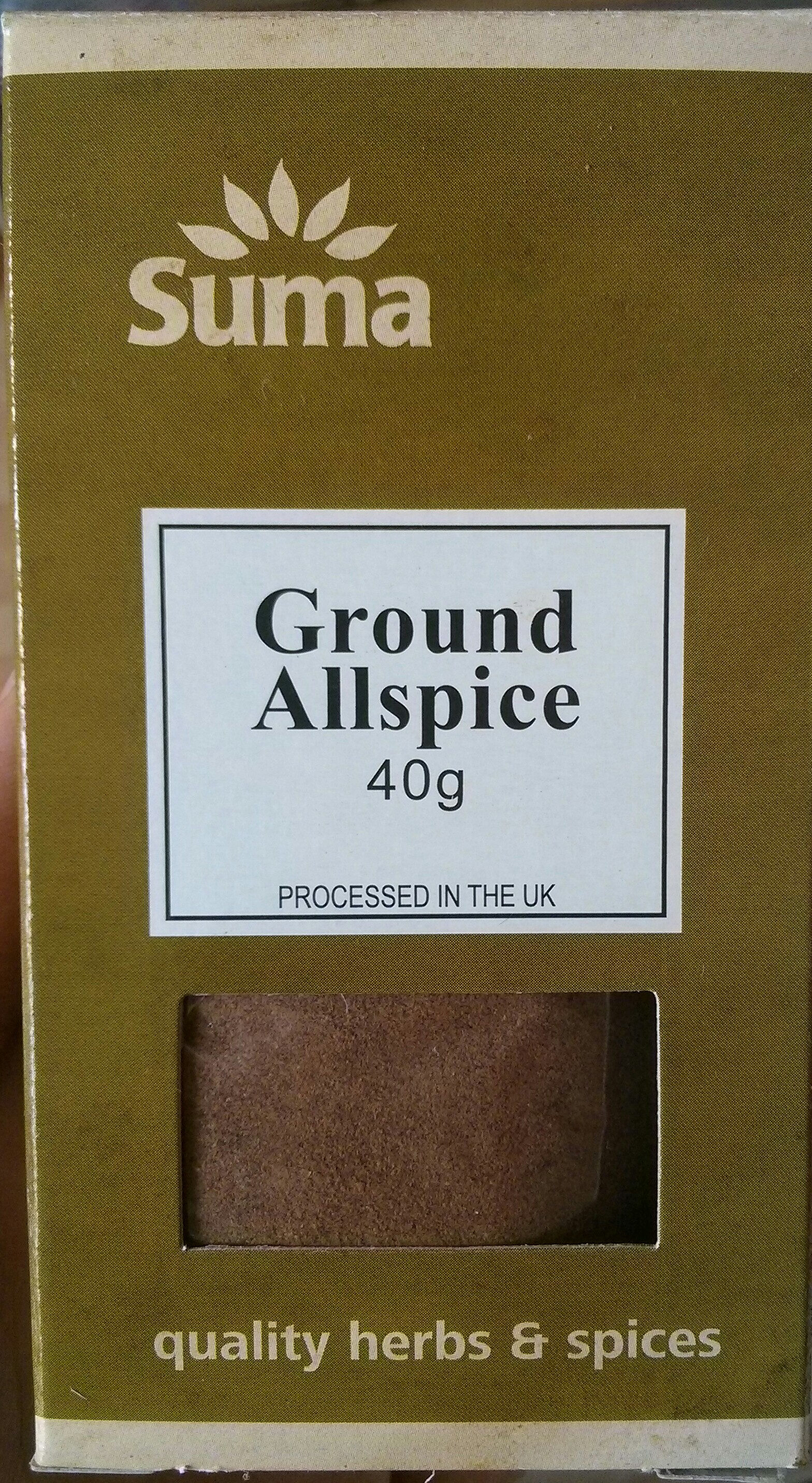 Ground Allspice - Product - en