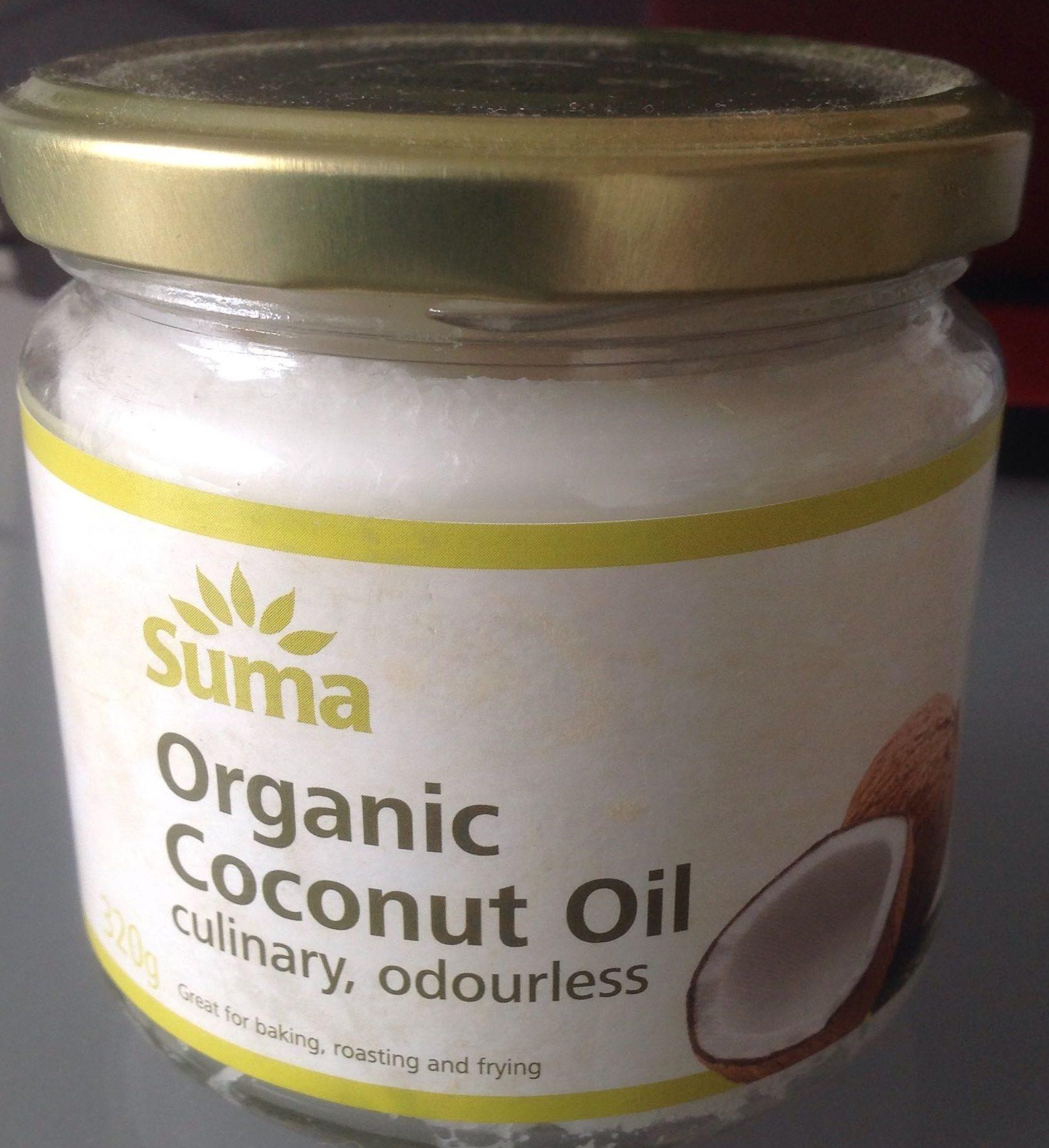 Organic Coconut Oil - Product