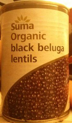 Organic black beluga lentils - Produit - en