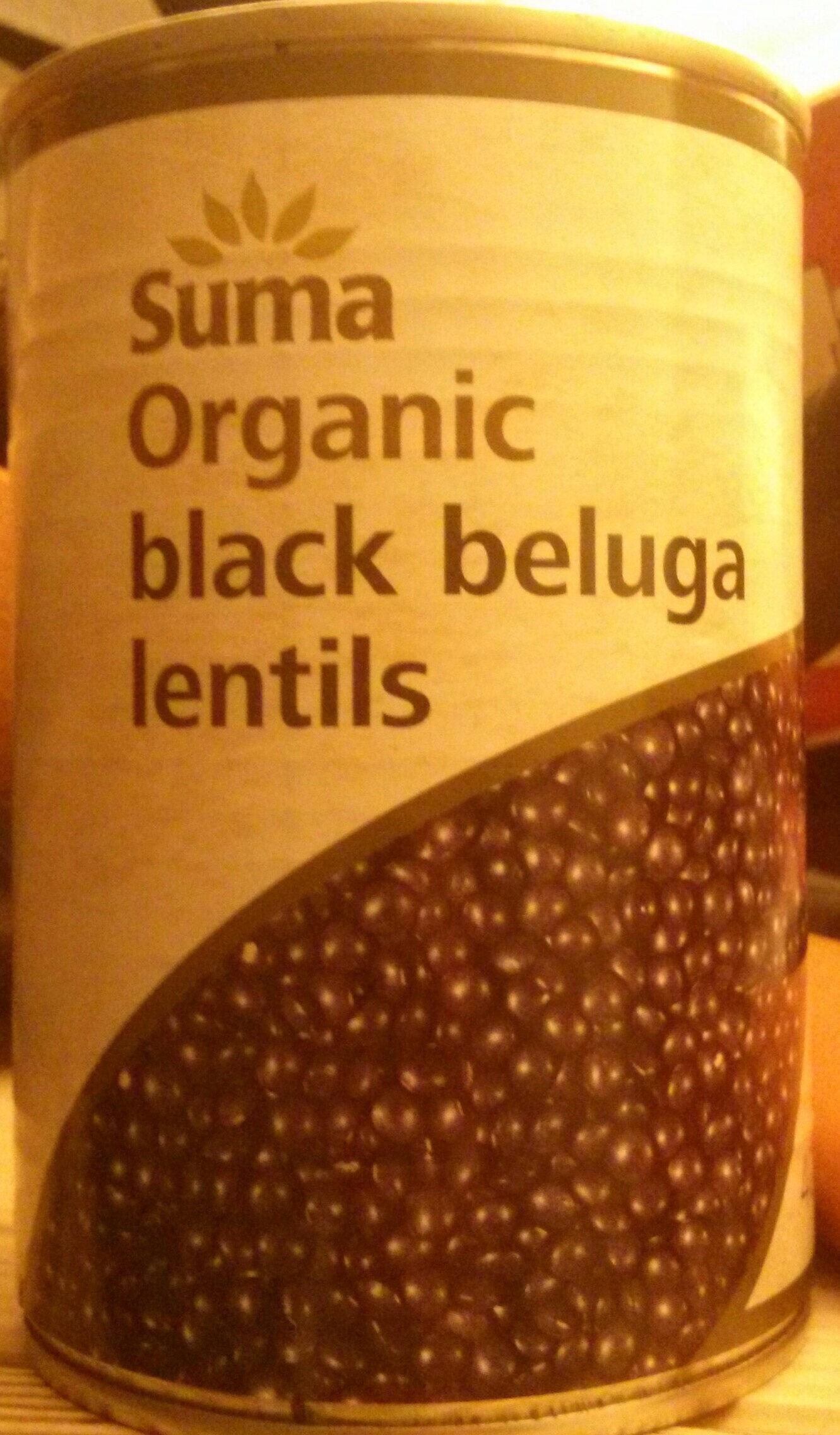 Organic black beluga lentils - Product