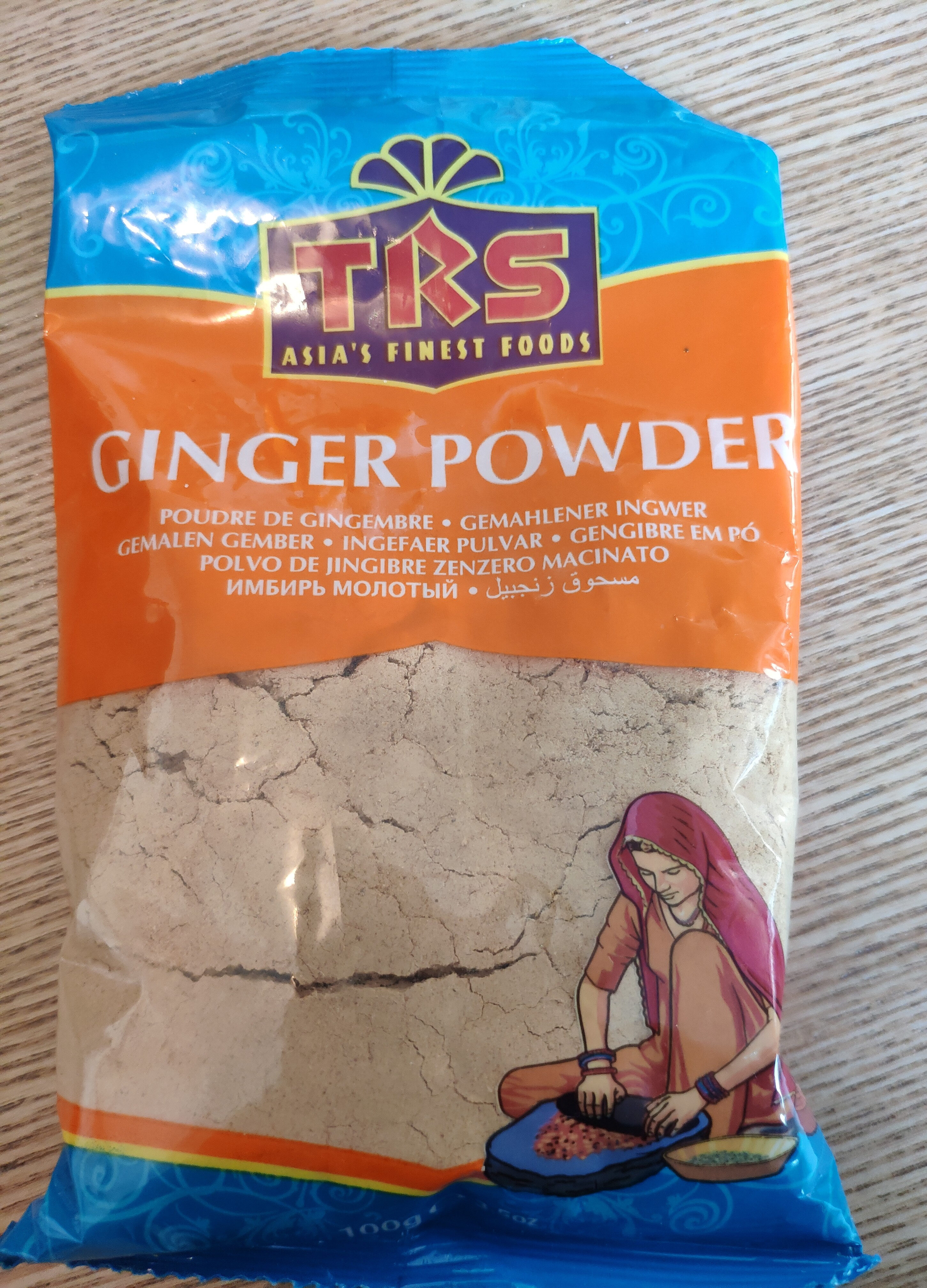 Ginger powder - Product - en