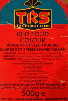 Rouge Vif Couleur Poudre - Product