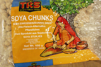 Soya Chunks - Ingredients