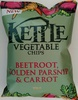 Kettle Vegetable Chips Beetroot, Golden Parsnip & Carrot - Product