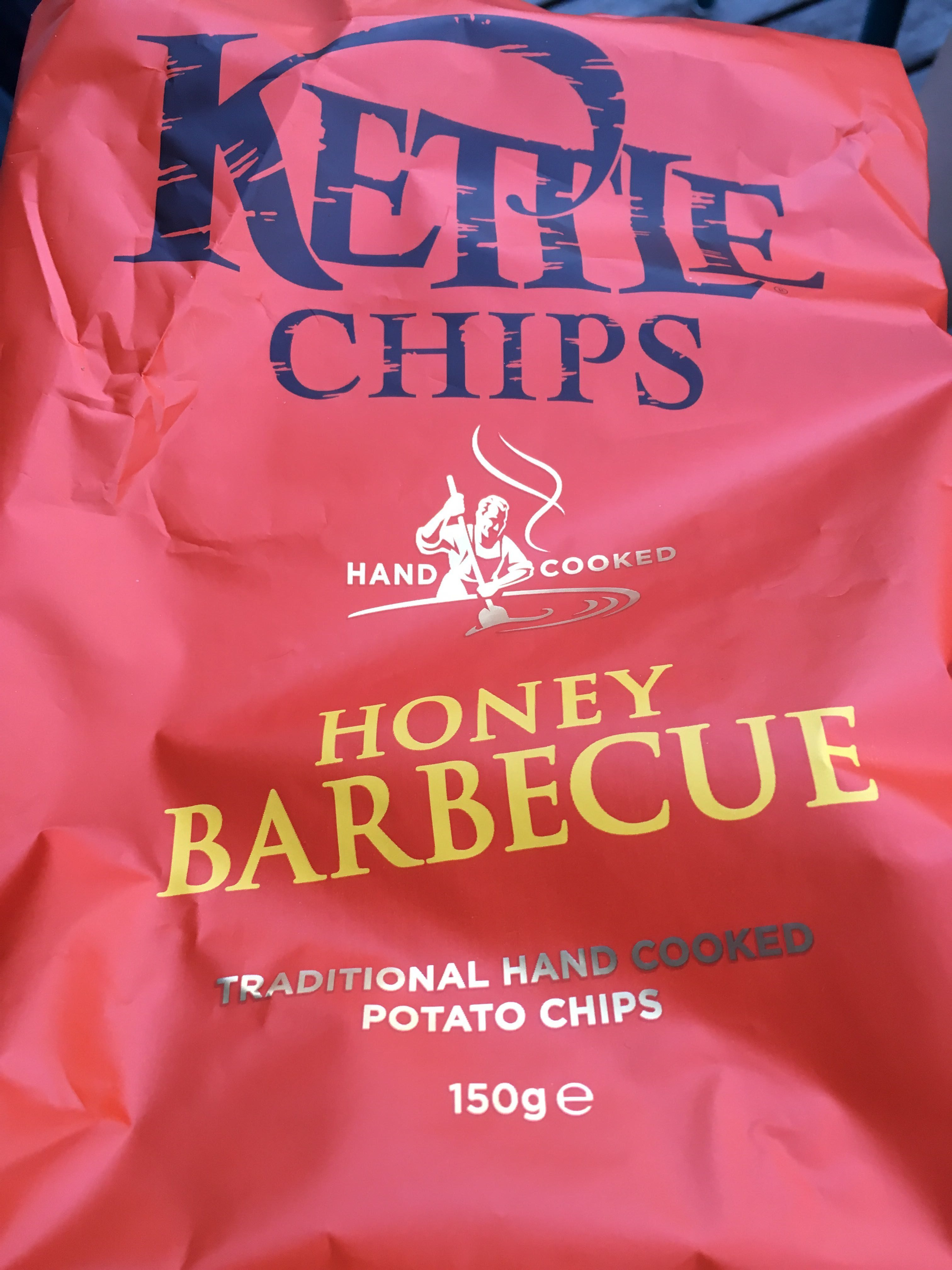 Kettle Chips Honey Barbecue - Product - fr