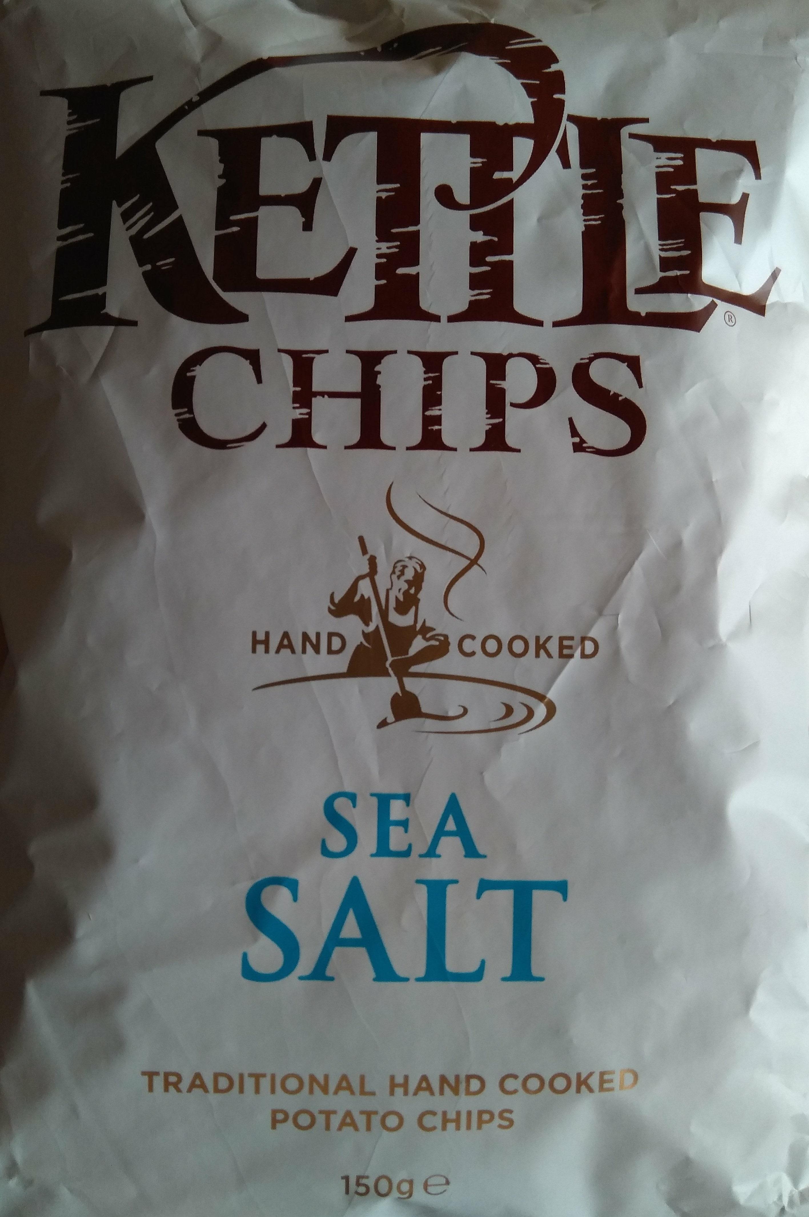 Patatas fritas con sal marina bolsa 150 g - Produkt - de