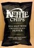 Kettle Chips Sea Salt & Crushed Black Pepper - Produit