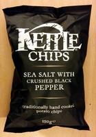 Kettle Chips Sea Salt & Crushed Black Pepper - Produit