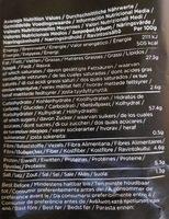 Kettle Chips Sea Salt & Crushed Black Pepper - Informations nutritionnelles