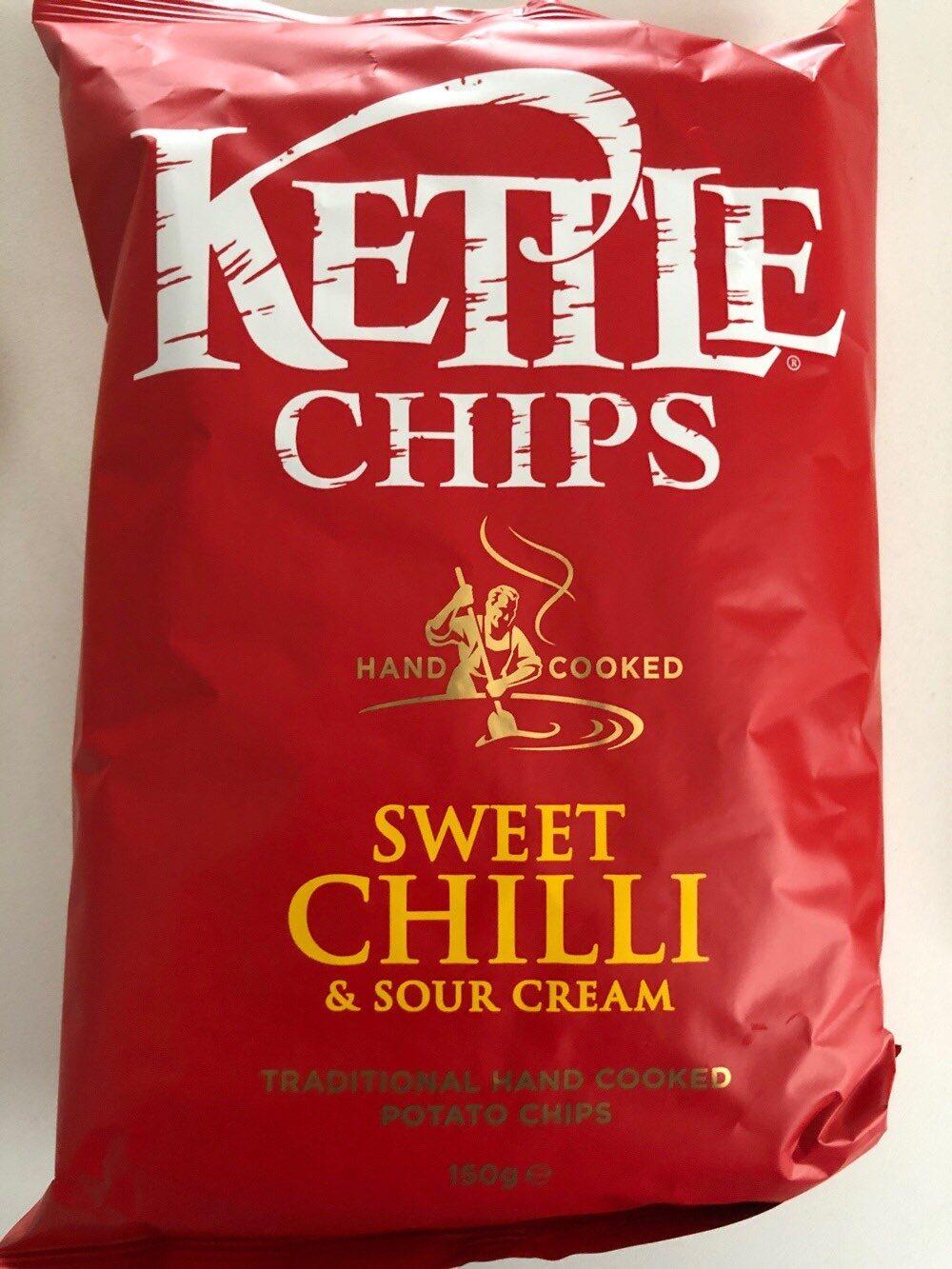 Patatas fritas Sweet Chili & Sour cream bolsa 150 g - Product - fr