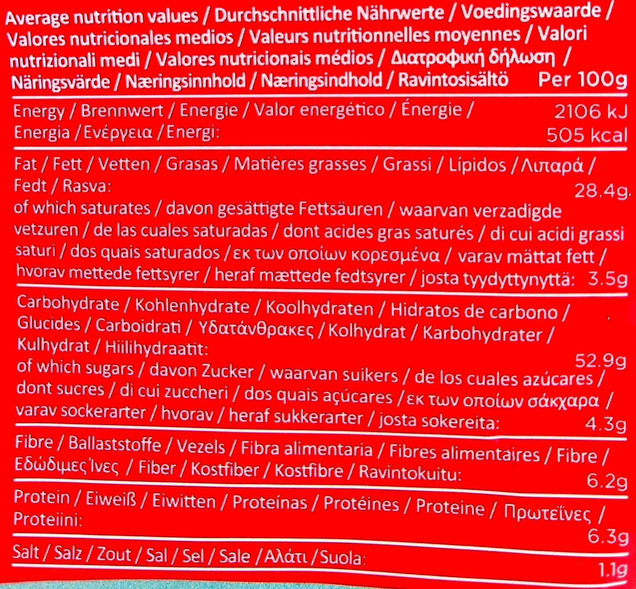 Patatas fritas Sweet Chili & Sour cream bolsa 150 g - Nutrition facts - fr