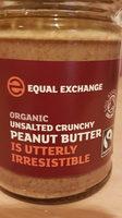 Organic unsalted crunchy peanut butter - Product - en