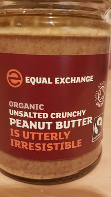 Organic unsalted crunchy peanut butter - Product