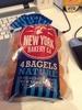Bagels nature - Produit