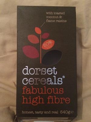 Dorset cereals fabulous high fibre - Product