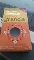 Honey  granola - Produit - fr