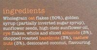Nutty Granola - Ingredients - en