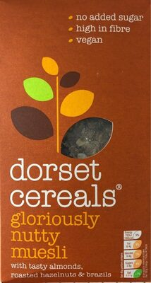 Gloriously nutty muesli - Product - fr